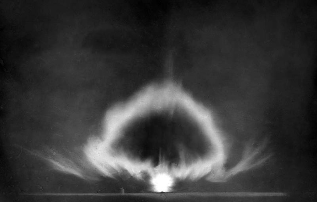 组图:世界各国进行核试验的震撼场面
