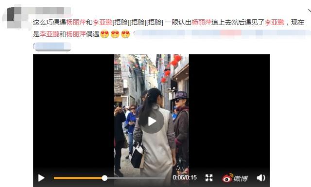 李亚鹏杨丽萍大理街头热聊引强势围观 李亚鹏杨丽萍有什么关系