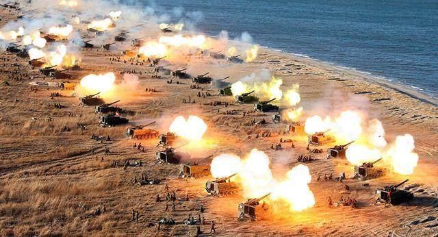 朝韩军事实力对比!朝鲜自保有余,统一朝鲜半岛