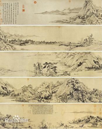 对中国十大传世名画富春山居图你了解多少?