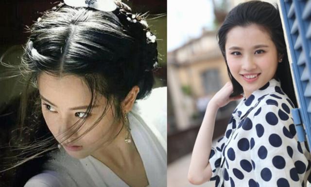 新版小龙女COS刘亦菲,刘亦菲不用吊威亚也能飞,她行吗?