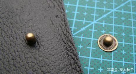 衣服,包包四合扣安装教程:简单好做,新手一看就会,好做极了!