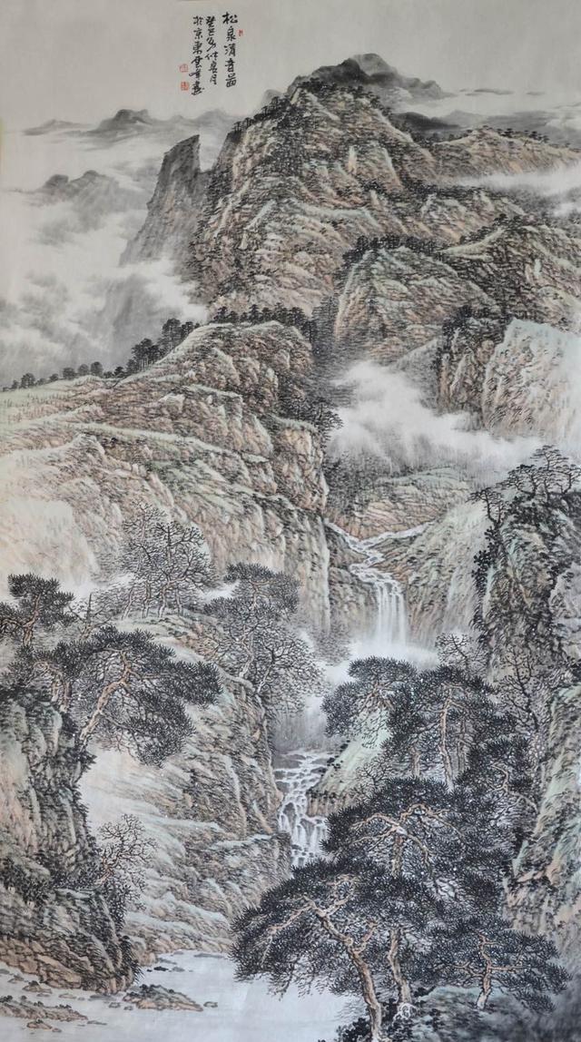笔墨求天地,丹青意无穷,杜云峰笔下的山水世界!