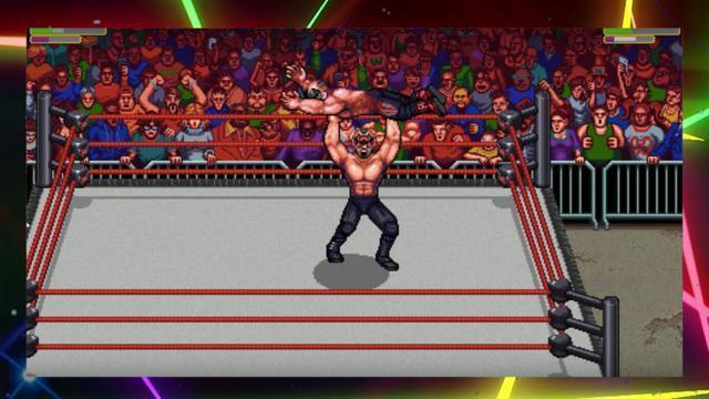 經典街機名作續篇《復古瘋狂摔跤》現已登陸Steam平臺