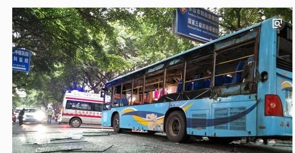 四川一公交车发生爆炸有无人员伤亡?
