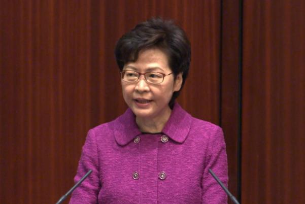 林鄭月娥:完善香港選舉制度修訂草案將於4月14日交立法會首讀