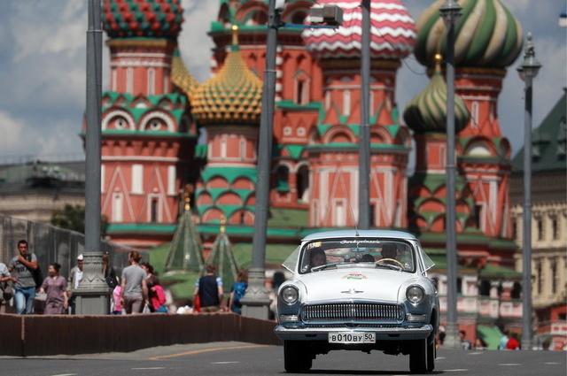 复古电车游行展将在莫斯科举行
