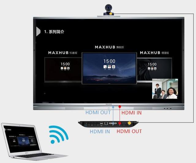 江苏会议平板,MAXHUB会议室搭配解决方案,智能会议专家海清通信