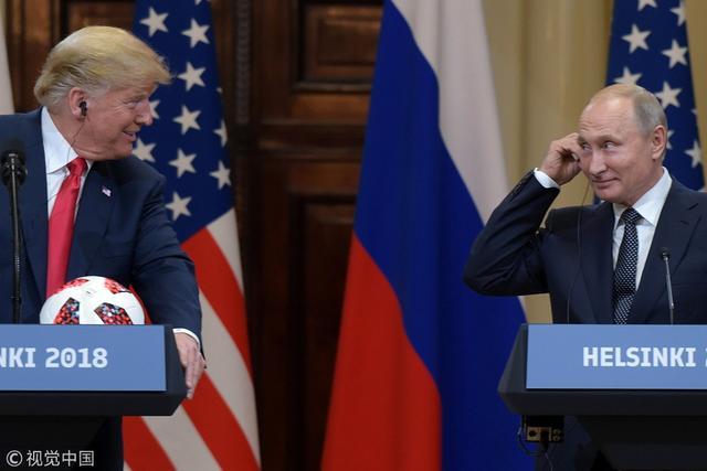 """美国""""撕毁""""中导条约震动世界 美俄或陷军备竞赛"""