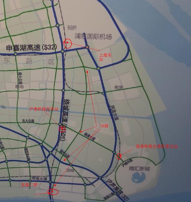 上海东站地区综合交通规划开始编制,期待沪通
