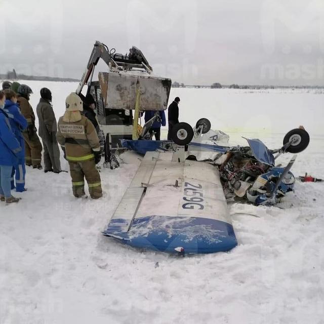 一架輕型飛機在俄列寧格勒州墜毀 致三人遇難