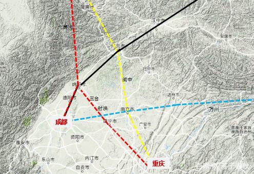 兰渝高铁的线路走向问题图片 53079 495x340