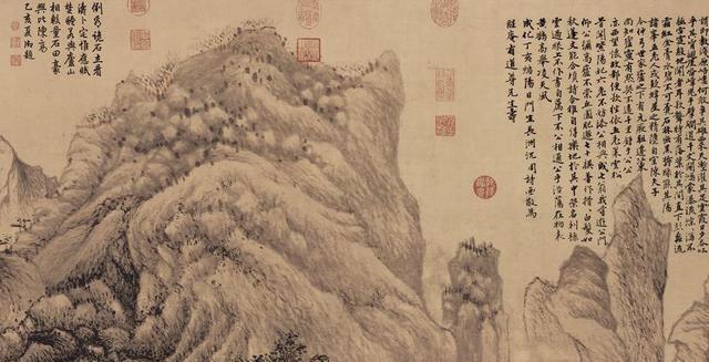 中国价格上亿的八大名画