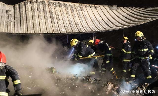 京东一快递大货车起火 物品被毁所剩无几-快递新闻网
