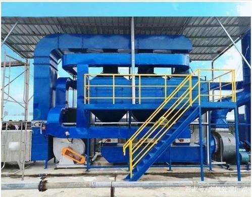 活性炭吸附催化一体设备应用江淮纳威司达汽车涂装喷漆废气处理