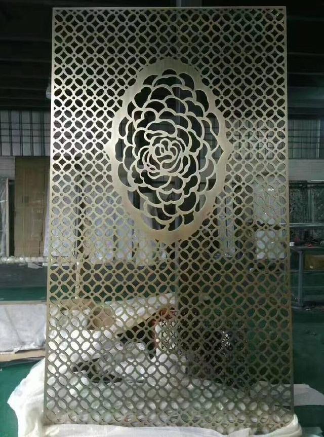 寺庙用304不锈钢屏风花格