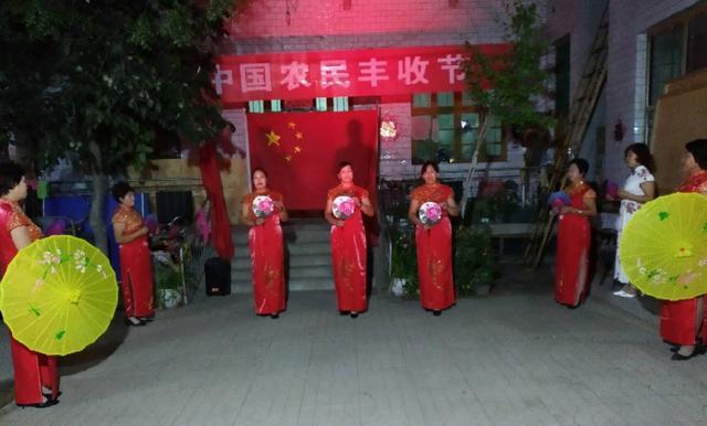 河北任县一农村:农民欢庆丰收节