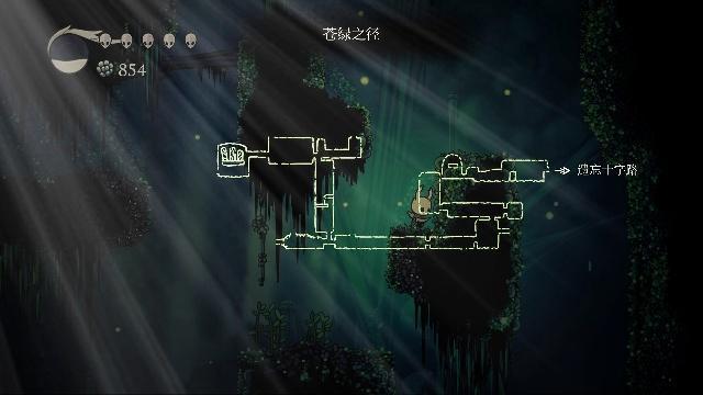 空洞骑士评测:与君一起探索地下城的奥秘图3