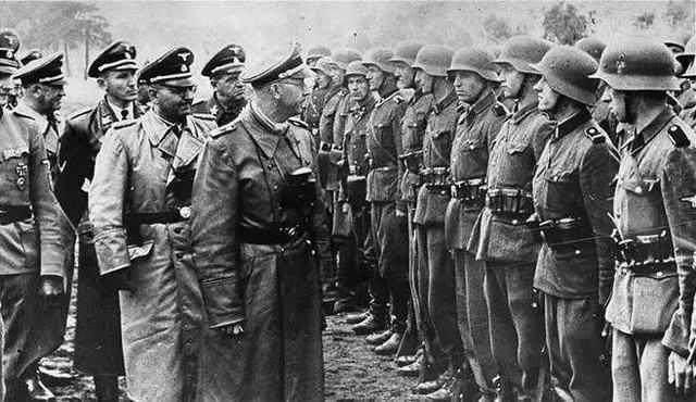 二战至今著名,来看看二战时期的军服吧,看看都是那些部队