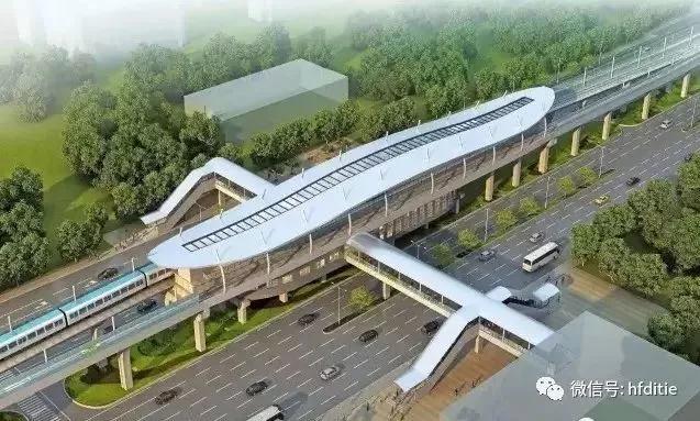 轨道交通--合肥地铁三号线2019年12月底开通运营!!!还有一大波好消息