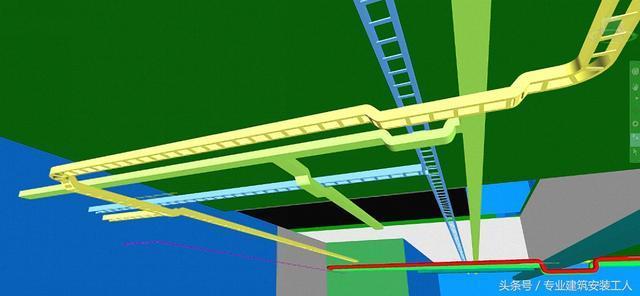 建筑安装工程(水电安装)----普通金属桥架的安装