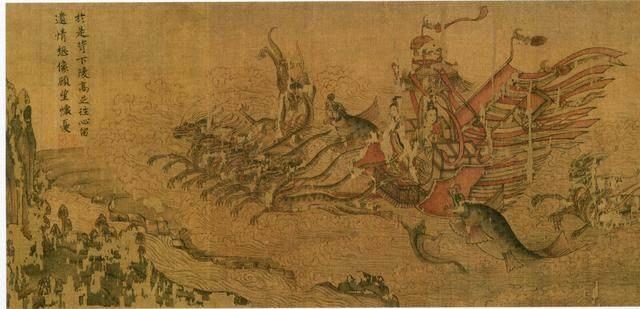 中国10大传世名画,仅有6幅完整保存北京