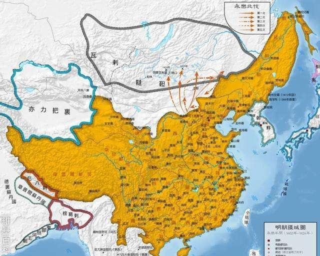 元朝灭亡之后的蒙古帝国是怎样消失在历史的长