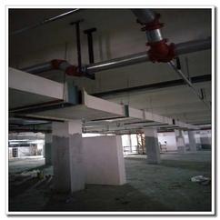 生产厂家批发安装地下停车场无机玻璃钢消防排风系统通风管道