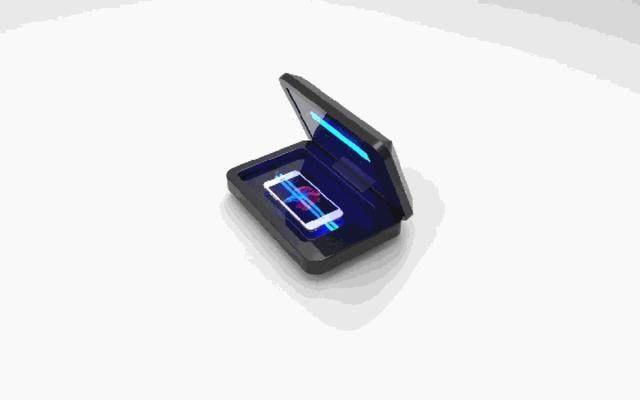 还在担心手机脏?这款设备20秒就能清除手机上99.9%的细菌