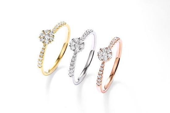 结婚买黄金戒指还是钻石戒指好? 黄金直播室 第1张