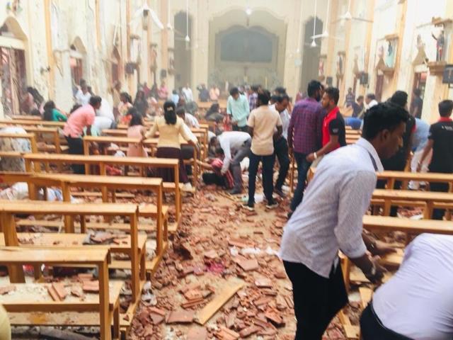 触目惊心 斯里兰卡教堂和酒店发生六起爆炸 已致125死160人受伤