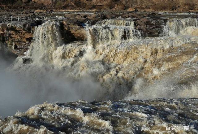 """""""黄河奇观""""壶口瀑布,气势壮观,感叹大自然的神奇力量!"""