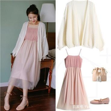 开衫+裙子=又瘦又美,6种搭配涵盖所有裙子穿搭,学会就变美哦!