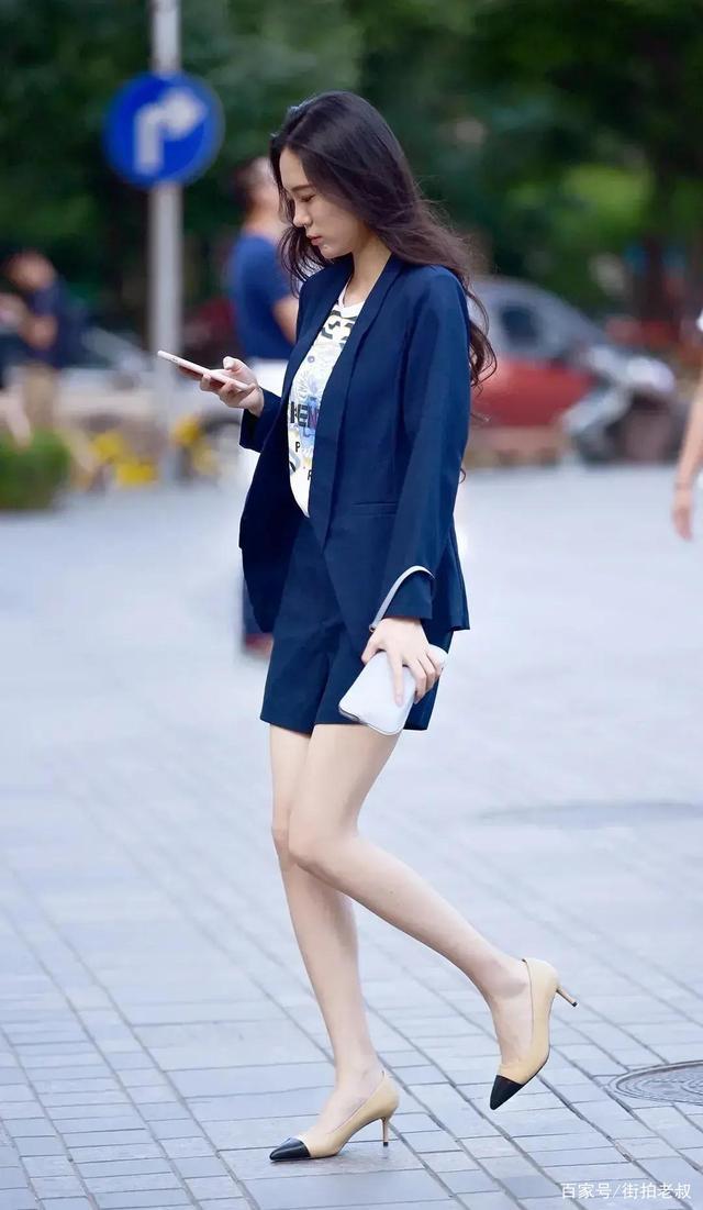 體現女性知性美的套裝,顯瘦還能特別洋氣,誰穿都好看!