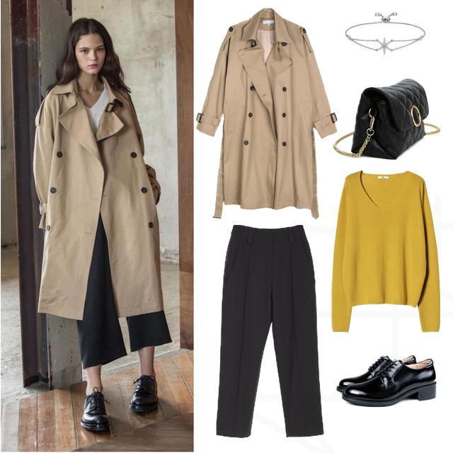 冬天风衣怎么搭配?6种风衣+裤子时尚穿搭,保暖简单还有高级感!
