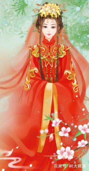 十二星座专属古代婚纱,射手座飘逸自由,双鱼座