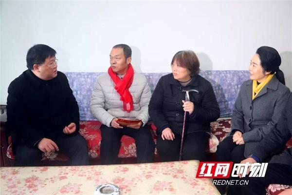 视频|湖南省总工会走访慰问长沙困难职工