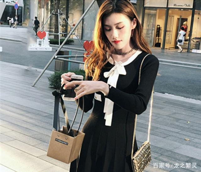 时尚连衣裙,秋冬穿起来