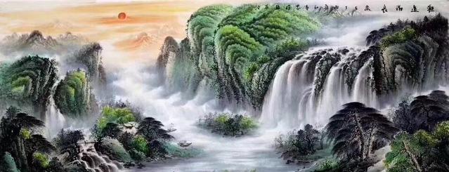 吉林人的山水名画