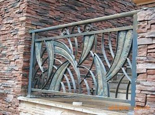 铁艺护栏的优点及工艺流程(图5)