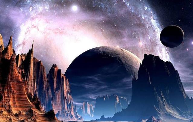 绝地求生:未来战争开启?出现大量奇特星球 世界都变成了蓝色