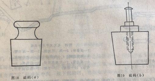 砝码的性状和结构及材料(图1)