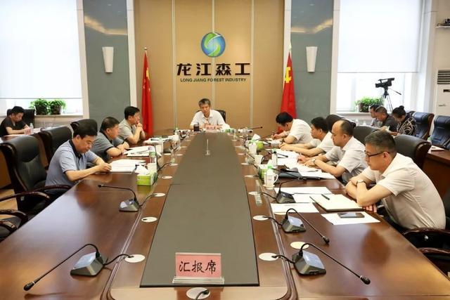 ...党委第18次(扩大)会议要求 聚焦林区项目建设 推动集团高质量发展