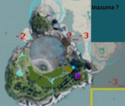 原神稻妻地圖搶先預覽