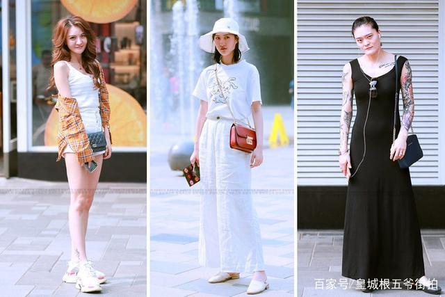 街拍:一些普通人的时尚穿衣打扮