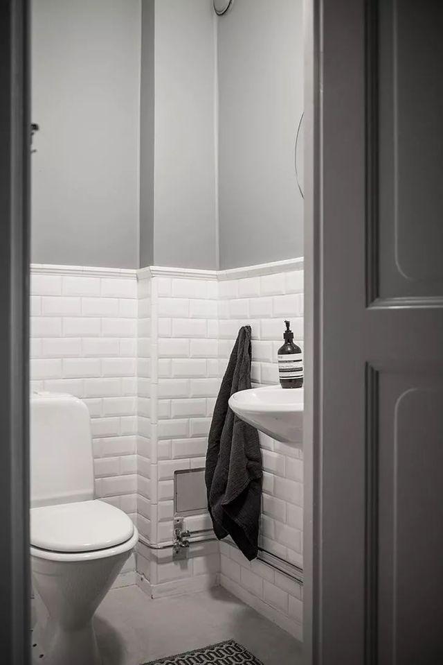 【现代】白+灰现代公寓, 塑造优雅设计感-第26张图片-赵波设计师_云南昆明室内设计师_黑色四叶草博客